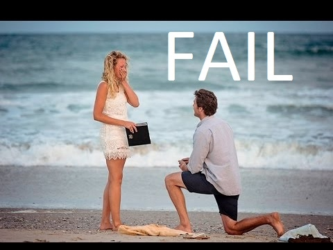 connectYoutube - MARRIAGE PROPOSAL FAIL COMPILATION | Girl Says No