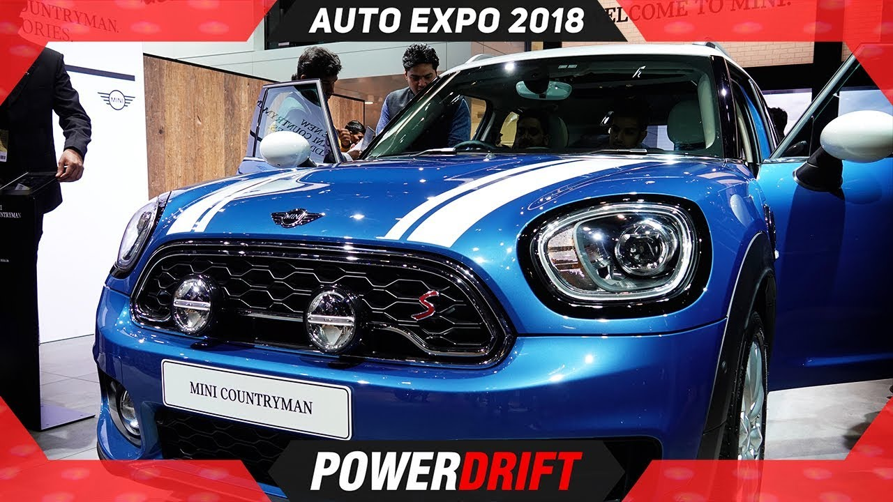 Mini Countryman @ Auto Expo 2018 : PowerDrift