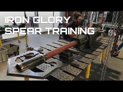Iron Glory Spear Training!