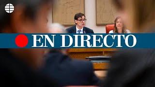 CORONAVIRUS ESPAÑA: Comparecencia del ministro de Sanidad, Salvador Illa