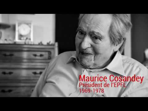 Maurice Cosandey - 100 ans