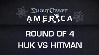 ShoutCraft America Winter - RO4 - EG.HuK vs. SYF.Hitman - BO5