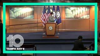 #LIVE: Speaker Nancy Pelosi holds news briefing