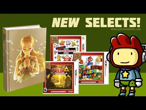 connectYoutube - More Nintendo Selects and a New Scribblenauts! | Nintendo Wiretap | January 16th, 2018