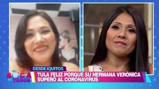 En Boca De Todos: Tula Rodríguez se emocionó al ver a su hermana recuperada del coronavirus