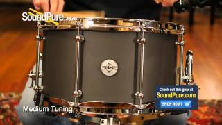 Dunnett Classic 8x14 Magnesium Snare Drum - Quick n' Dirty