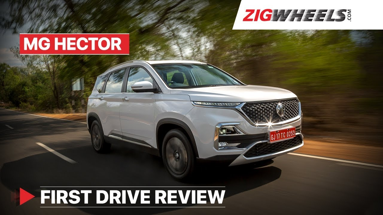 MG Hector Review | Get it over the Tata Harrier and Jeep Compass? | ZigWheels.com