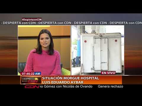 Situación en la morgue del hospital Luis Eduardo Aybar