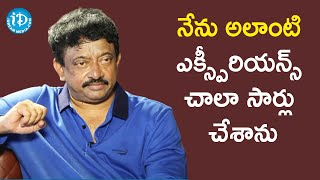 I Have Experienced It a Lot - Ram Gopal Varma | Dil Se With Anjali | iDream Telugu Movies - IDREAMMOVIES