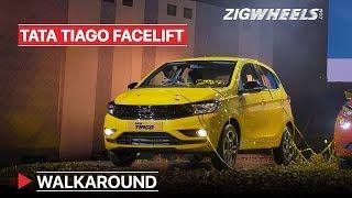 Tata Tiago Facelift Walkaround | Small Car, Little Changes | Zigwheels.com