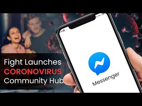 Fight rumors with Facebook Coronavirus Community Hub on Messenger