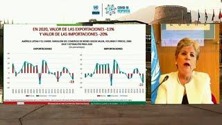 Exportaciones de América Latina caen 13% en 2020 por crisis del covid-19 | AFP