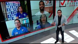 Ruta Electoral: cuatro candidatos al Congreso por el Callao debatieron este viernes