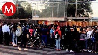 Encapuchados intentan tomar otra vez Prepa 5 de la UNAM