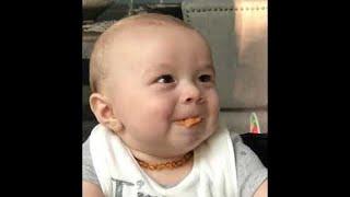 شاهد رد فعل طفل يجرب الأطعمة لأول مرة