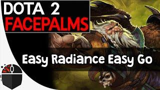 Dota 2 Facepalms - Easy Radiance Easy Go