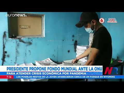 Presidente Alvarado habló de la crisis de Nicaragua ante la ONU