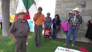 Habitantes de Villa Hidalgo piden apoyo al Gobierno del Estado.