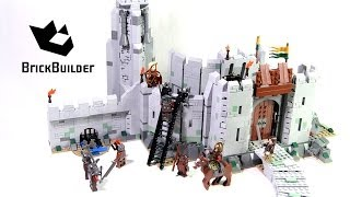 Lego The Lord of the Rings 9474 The Battle of Helm's Deep - Lego Speed build