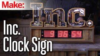 Inc. Clock Sign