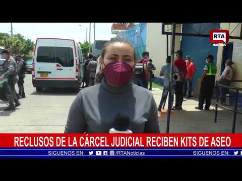 Reclusos de la Cárcel Judicial reciben kits de aseo