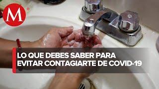 ¿Cómo ataca el jabón al coronavirus