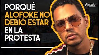 Santiago Matías: el engaño de Alofoke en la plaza de la bandera!