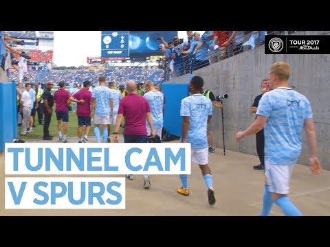 TUNNEL CAM | Man City 3-0 Tottenham Hotspur | Nashville