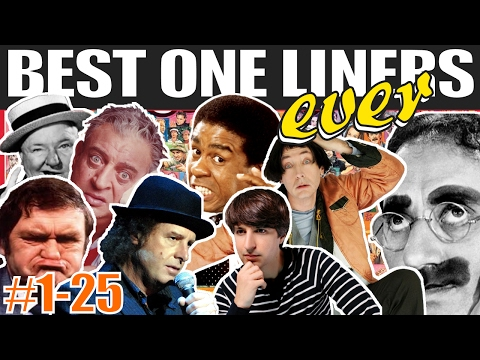 connectYoutube - The Best One Liners in Comedy from the Past 87 Years (#1-25)