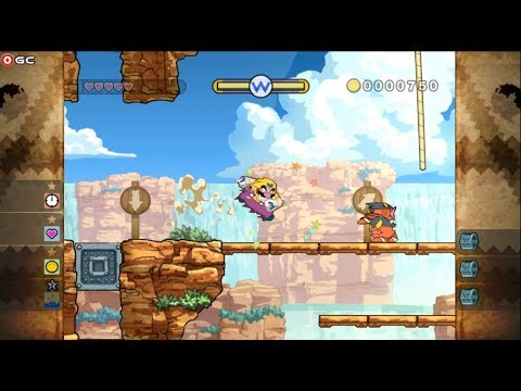 connectYoutube - Wario Land Shake / Nintendo Wii Edition Aciton Platform / Gameplay #2