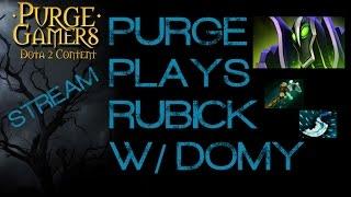 Dota 2 Purge plays Rubick w/ Domy