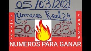 NÚMEROS PARA HOY 05/03/2021 DE MARZO PARA TODAS LAS LOTERIAS