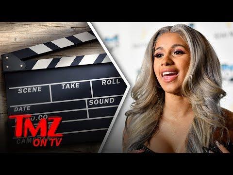 Cardi B - Stripper Turned Rapper Turned Actor!   TMZ TV
