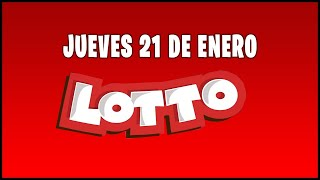 Resultado del sorteo Lotto de Ecuador del Jueves 21 de Enero de 2021