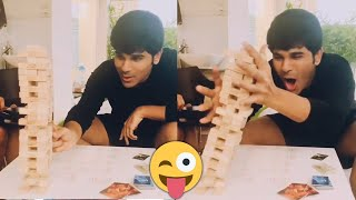 Allu Sirish Playing Jenga With Allu Arjun | Allu Sirish Funnyy Quarantine Moments - RAJSHRITELUGU