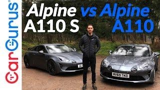 Alpine A110S против A110: Какой спортивный автомобиль лучше для