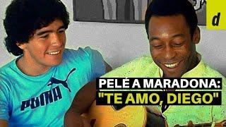 La conmovedora carta de Pelé a Maradona: