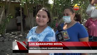 Los Banasupro móvil visitan colonias sampedranas