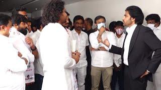 Pawan Kalyan Meets JanaSena Party Telangana State Student Committee | TFPC - TFPC