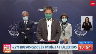 Balance de contagios por COVID-19 en Chile: 4.276 casos en las últimas 24 horas