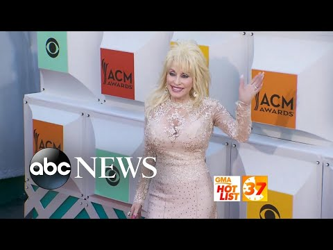 'GMA' Hot List: Dolly Parton receives 2 Guinness World Records