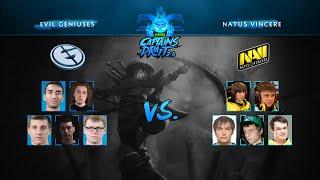 XMG Captains Draft 2.0 - Evil Geniuses vs Na`Vi - Game 2