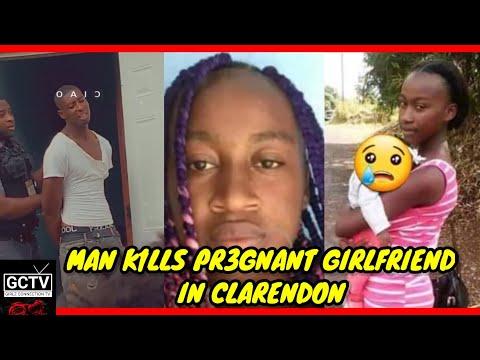 Man K1LLS PR3GNANT Girlfriend In Kellits, Clarendon @Girlz Connection Tv