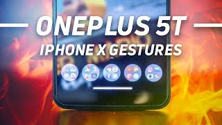 Bring iPhone X gestures to your OnePlus 5T