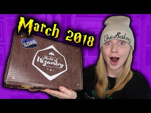 Harry Potter - World Of Wizardry Unboxing - March 2018 (Geek Gear)