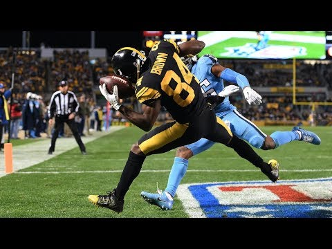 Antonio Brown's 10 Greatest Catches That Will Leave You Speechless