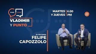 En #VladimiryPunto @vladimirvillegasp estará con Felipe Capozzolo presidente de Consecomercio
