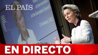 DIRECTO | VON DER LEYEN da un discurso sobre las prioridades de Europa