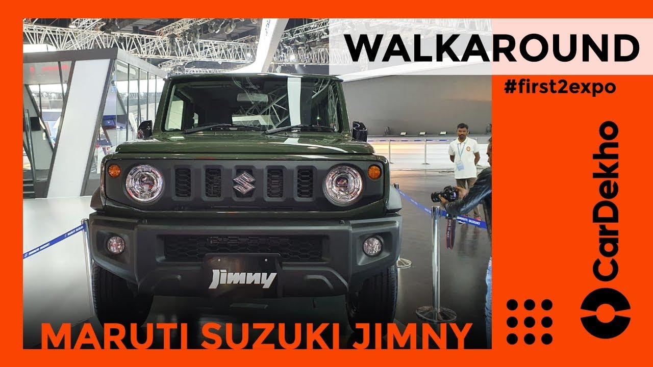Maruti Suzuki Jimny Coming To India First Look | Thar Ko Mili Takkar? | CarDekho.com