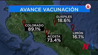 Vacunación contra Covid-19 es lenta y desigual en Costa Rica